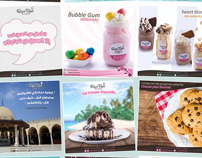 Sugar rush social media posts