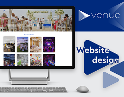 Venue Website Design