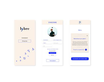 Lybre - Free library App
