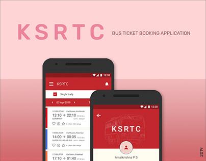 KSRTC Bus Ticket Booking Application