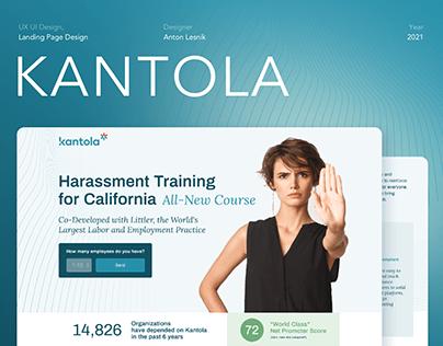 Landing Page for Kantola