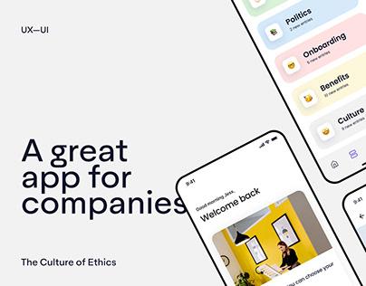 Ethic UX — UI