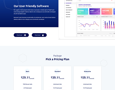 Voopo - React JS VOIP Service Template
