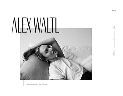 Website Redesign and Webflow for Alex Waltl