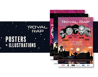 ROYAL RAP - posters & illustrations