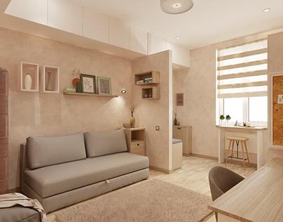 Apartment 22 sqm