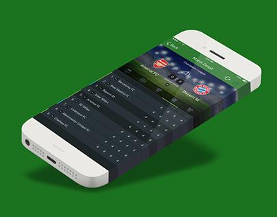 UI - Sport BET Application