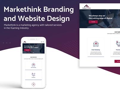 Markethink Marketing Agency Branding and Website Design