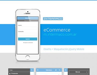 Intermaco Website, eCommerce, mCommerce