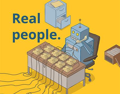 Real People. No Bots.