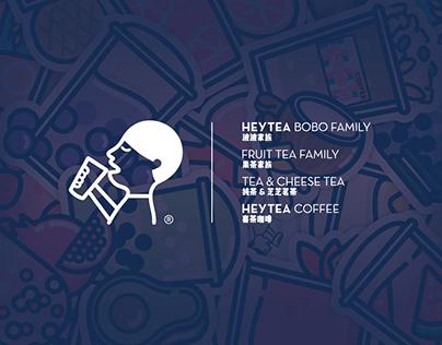 HEYTEA喜茶产品图形图案设计