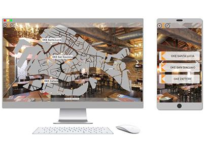 Progettazione sito web OKE Venezia