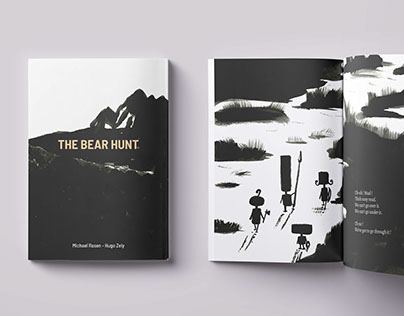 The Bear Hunt : Illustration book