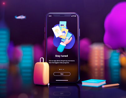 Onboarding Illustrations 3d