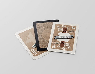 Fashion Themed Deck of Cards