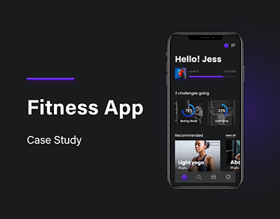 Fitness App - case study