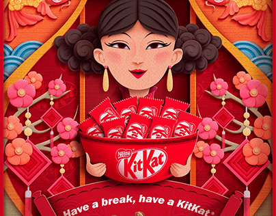 KitKat Chinese New Year Greetings
