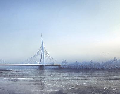 Bridge Galvani - Budapest, HU