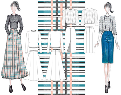 Fashion Design Portfolio - 3 in 1