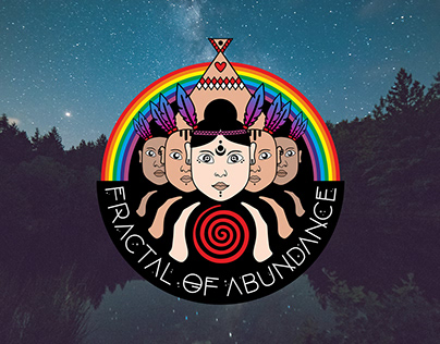 Logotype design ''Fractal Of Abundance''