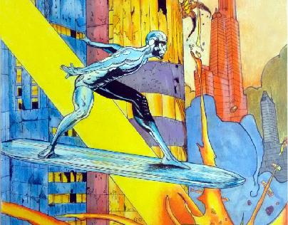 Surfista Prateado (Silver Surfer) Plus