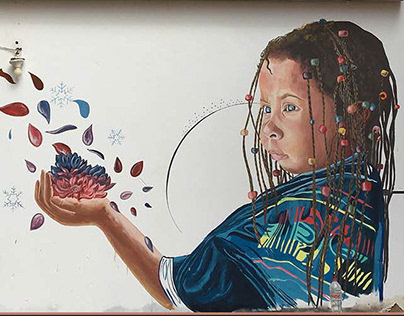 Dahabeya Mural