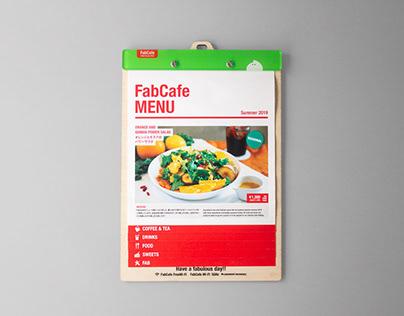 FabCafe - Menu Design & Barista Board
