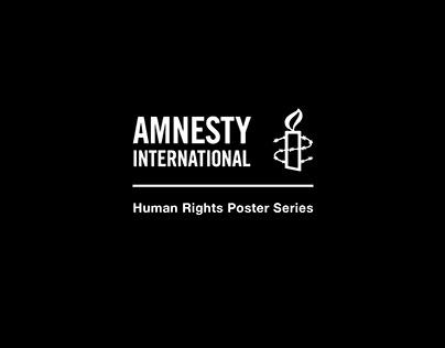 Amnesty International Poster Series