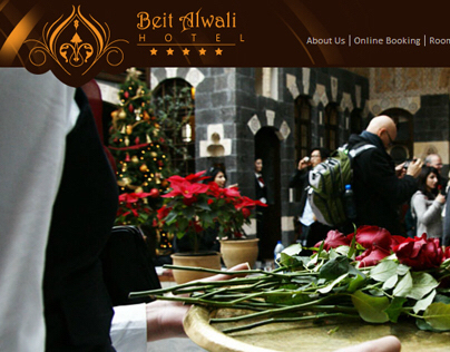 Beit Al Wali Website design and programming