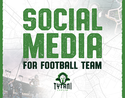 Social media and print designs for Tytani Lublin