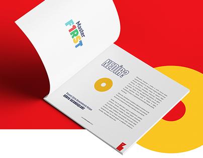 Master First Catalogue Design