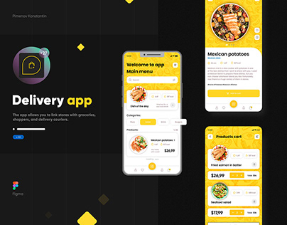 Food Delivery mobile application android ios