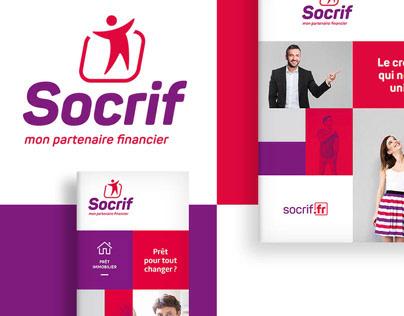 Logo & rebranding - socrif (SNCF' s lending agency)