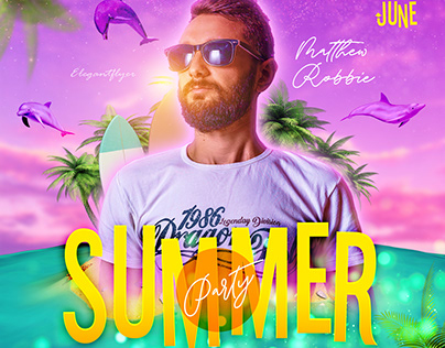 Summer – PSD Flyer Template