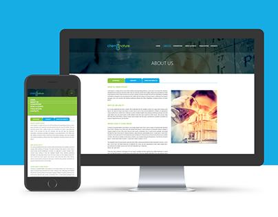 CHEM2NATURE Website design