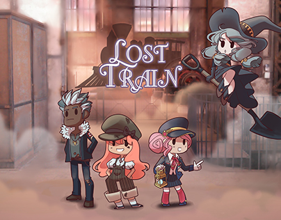 Lost Train [Illustration]