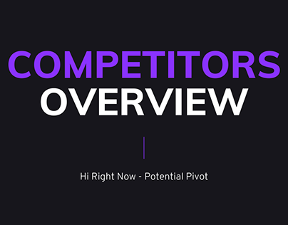 startup company competitors overview