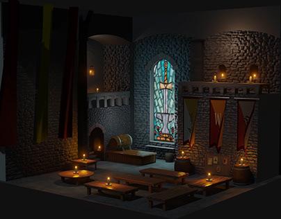 3D Wizard Tavern