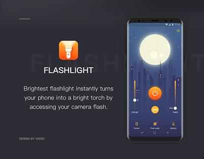 Flashlight App UI