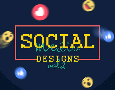 SOCIAL MEDIA DESIGNS -Vol 2