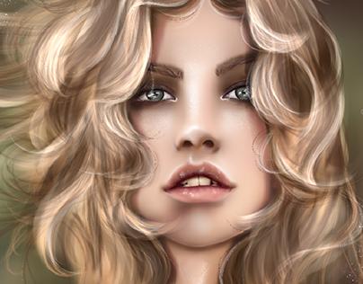 Ilustración •Barbara Palvin•