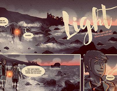 Light - short graphic story