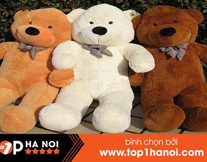 15+ Shop Gấu Bông Tại Hà Nội Cực Phong Phú