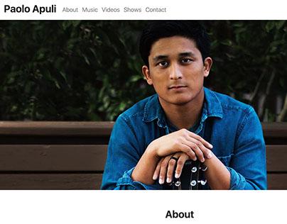 Paolo Apuli - UX/UI Design + Development