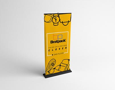 Bratpack Philippines Roll-up Banner