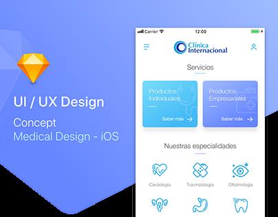 Medical UI Design - iOS