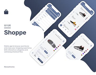 Shoppe | ecommerce | Mobile | UI/UX