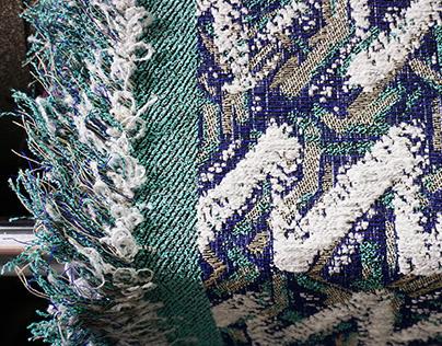 ŁAD jacquard fabric
