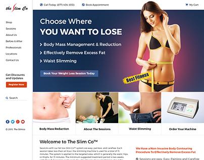 The Slimco Website UI/UX
