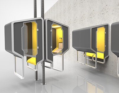 POD: Phone Booth For Open Plan Offices